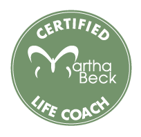 Certified Martha Beck Life Coach